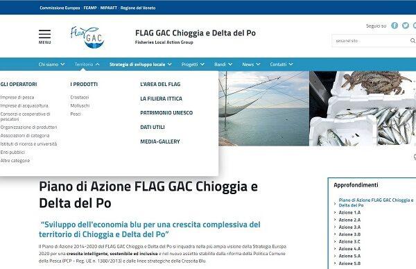 Megamenu sito AgID FLAG GAC