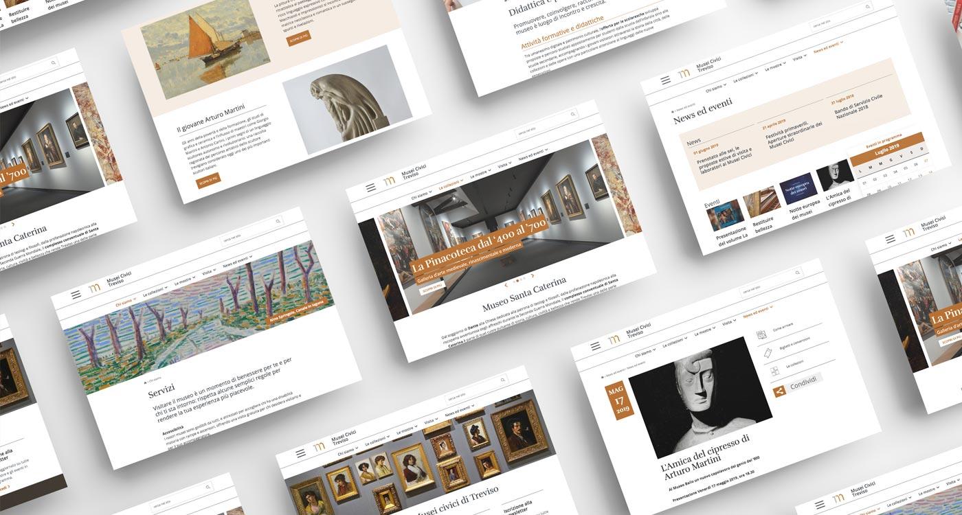 Sito web per Musei Civici Treviso