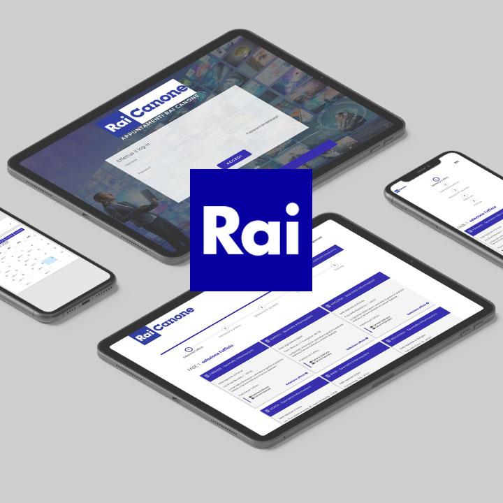 Agenda Web per RAI