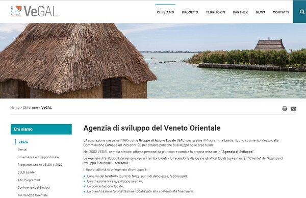 Sito web Vegal